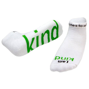 "Notes To Self® ""I am Kind"" Socks"