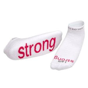 Notes To Self® 'I am Strong'™ Socks