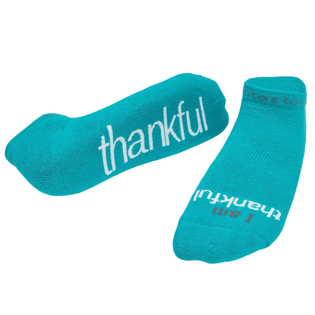 "Notes To Self® ""I am Thankful"" Socks"