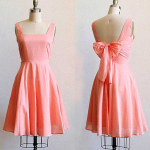 Apricity Emma sundress with bow sash - peach