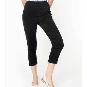 Smak Parlour Smarty Pants capris - black