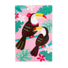 CLEARANCE - Tiki Toucan A5 lined paper notebook by Sass & Belle