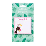 CLEARANCE - Tiki Toucan sticky notes by Sass & Belle