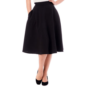 Steady Clothing High Waist Thrills skirt - black