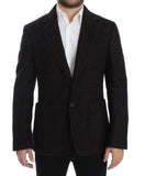 Bordeaux alpaga two button blazer
