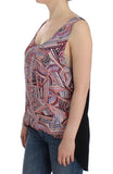 Multicolor sleeveless top