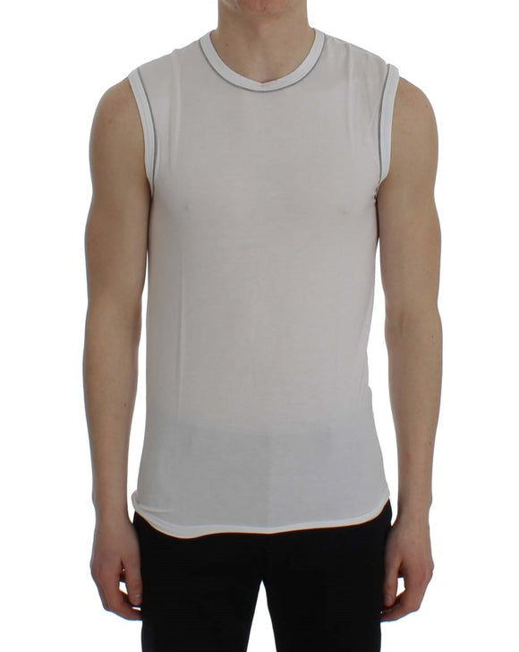 White Modal Stretch Underwear T-shirt