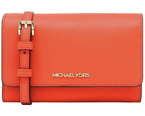 Michael Kors Jet Set Travel Medium Multifunction Phone Crossbody