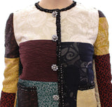 Patchwork Baroque Crystal Jacket Coat
