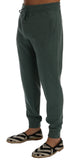 Green Cashmere Training Pants