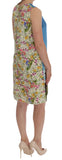 Multicolor SANREMO Sleeveless Silk Dress