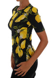 Multicolor Lemon Silk Stretch T-Shirt