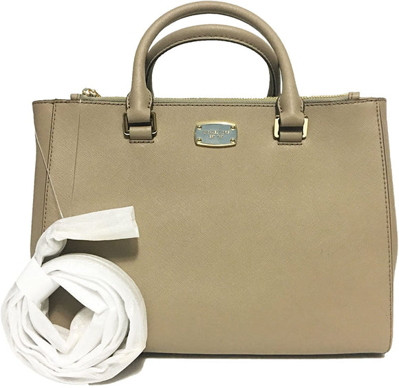 Medium Kellen Leather Satchel Bag