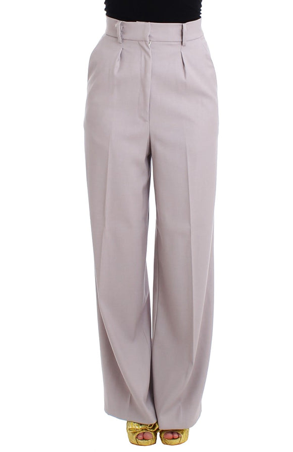 Gray high waist pants