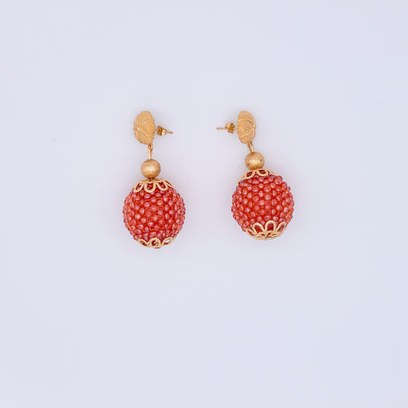 Mary Sea Bead Earrings