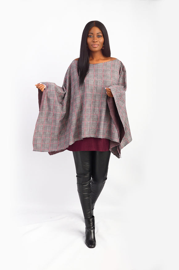 Irene Kol London Limited Edition 2-in-1 Poncho.