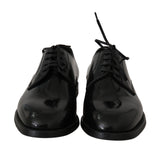 Black Leather Dress Formal Mens Shoes