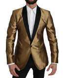 Gold MARTINI Silk Jacket Coat Blazer