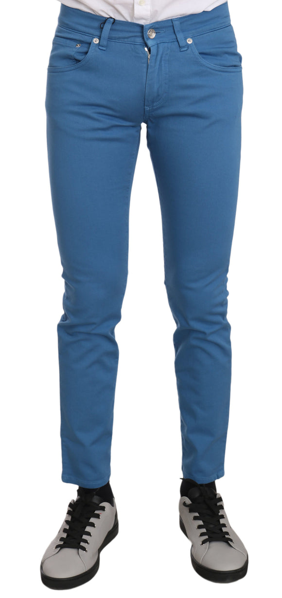 Blue CLASSIC Cotton Stretch Skinny Jeans