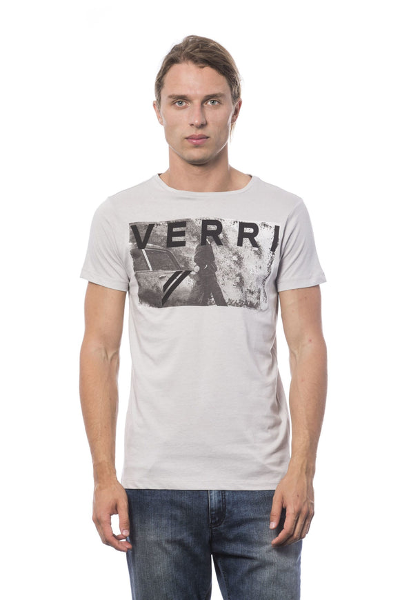 Adieel Grey Print T-shirt