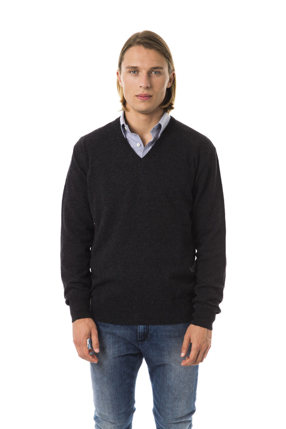 Antrac V-Neck Extrafine Wool Sweater