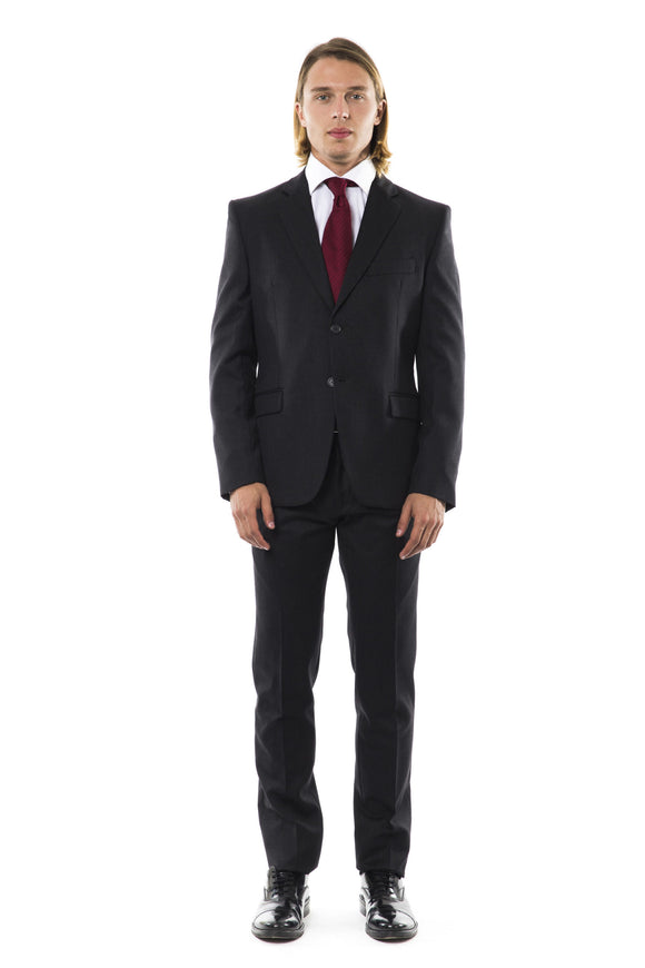 Virgin Wool Slim Fit Suit
