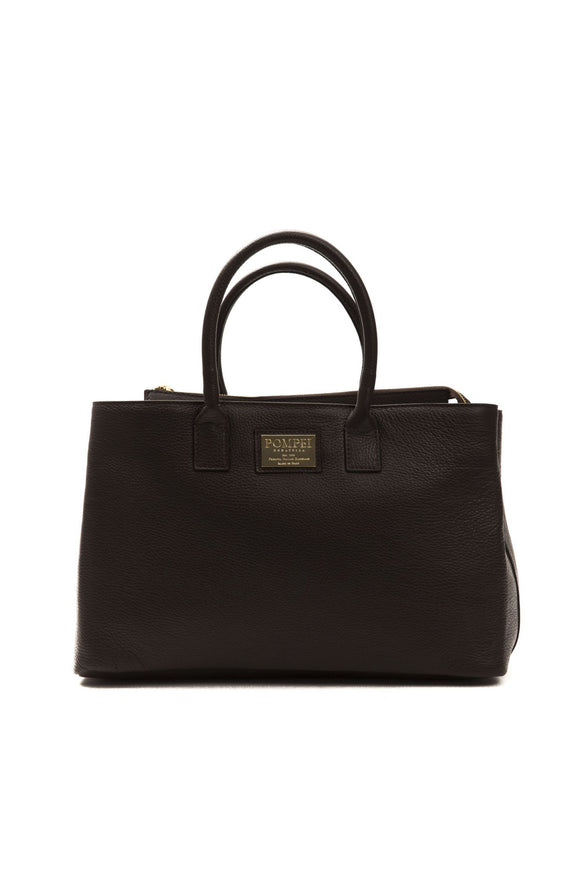 Cioccolato Leather Croc Brown Handbag