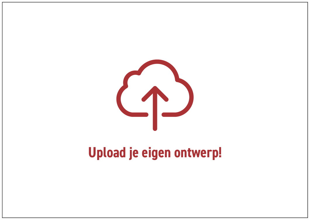 Upload je eigen voorkant - Create Your Surprise
