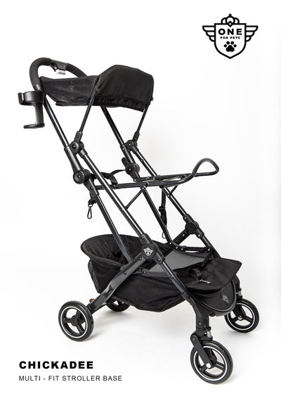 One for Pets Chickadee Multi-fit Stroller Base (Base only)