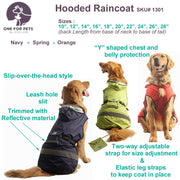 Safety Hooded Raincoat