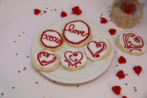 A Valentine's Cookie Assortment