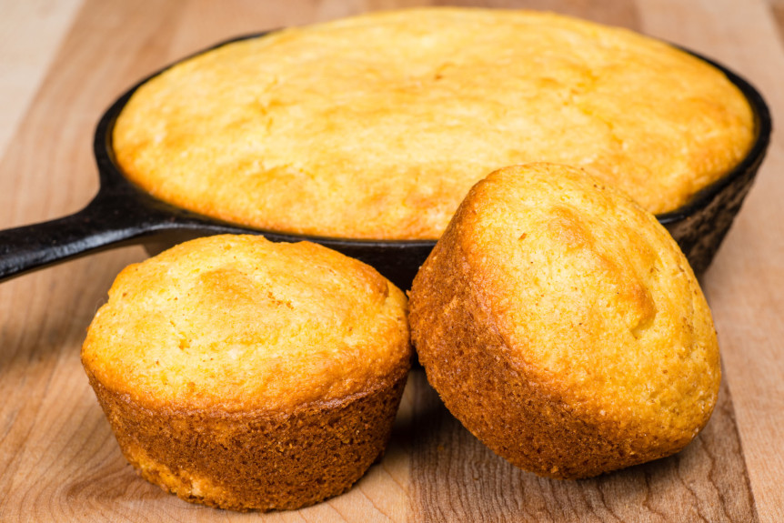 Stoneground Corn Muffins