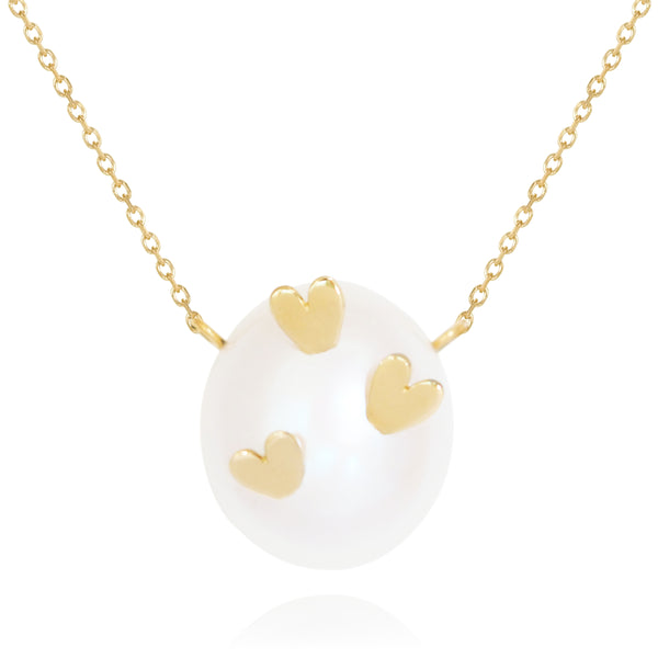 Striking Hearts Necklace