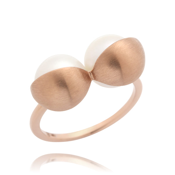 Rose Gold Bra Ring