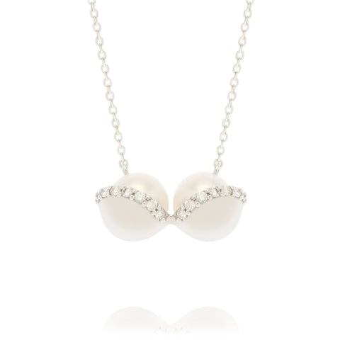 Diamonds Bra Necklace