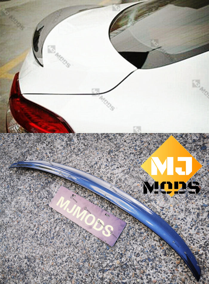 Carbon Fibre Rear Trunk Boot Spoiler for Maserati【Ghibli】2014-2019【Wald Style】 (3789671792714)