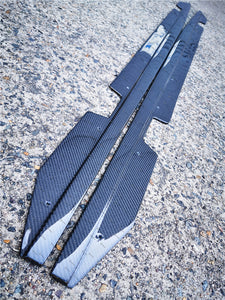 Carbon Fiber Side Skirts For BMW【F22 F23 M Sport M240i M235i 230i 228i】 (6538437918794)