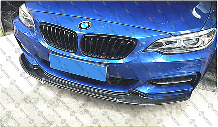Carbon Fibre Front Bumper Lip for BMW【F22 & F23 M Sport M Tech】【EXOT Type】 (4316952625226)