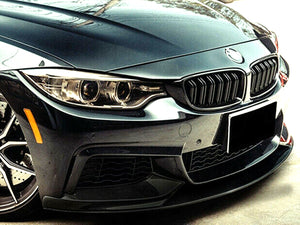 ABS Glossy Black Front Bumper Lip for BMW【F32 F33 F36 M SPORT】440i 435i 430i 428 (4320886194250)