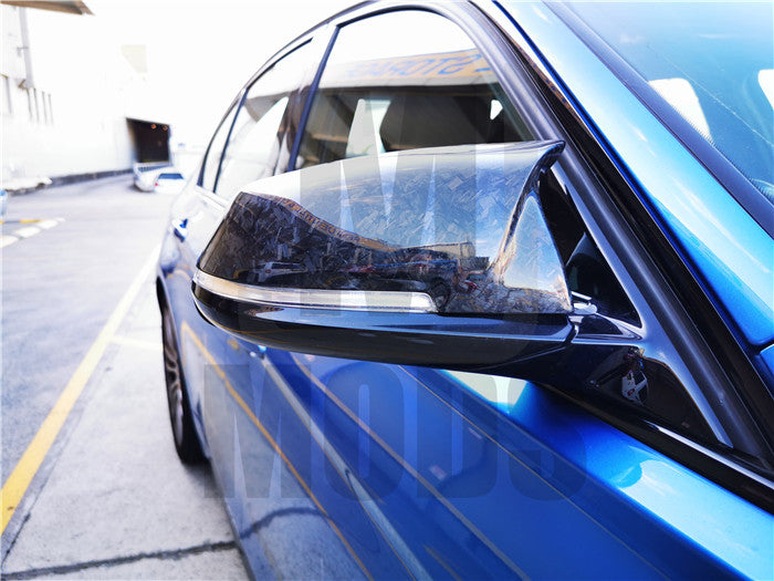 【Forged】Carbon Fibre Mirror Cover For BMW 1/2/3/4 series F20 F30/31 F32/33/36 F87/M2【M3】 (4752168026186)