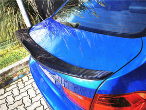 Carbon Fibre Rear Boot Spoiler for BMW【F30 F80】【PM style】High-Kick (3744742342730)