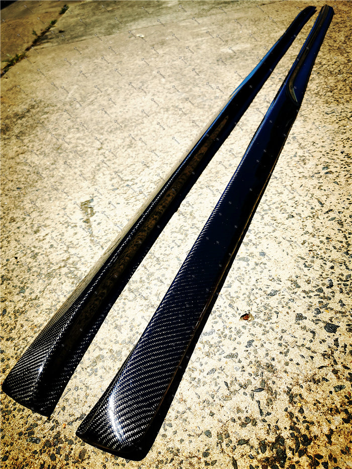 Carbon Fibre Side Skirt Fit For MERCEDES BENZ【W205/C205/A205/S205】【C200/C220/C250/C300/C350 AMG C43 C63-S】 (4603287601226)