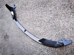 Carbon Fibre Front Bumper Lip for BMW【F80 M3 & F82 F83 M4】【MP Style】 (4461619675210)