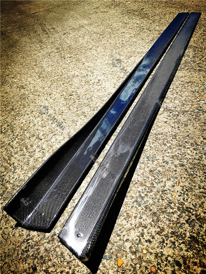 Carbon Fibre Side Skirts for BMW M Series【M3 F80 M4 F82/F83】【RZ Style】 (4854345072714)