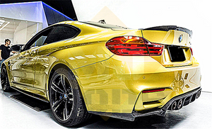 Carbon Fibre Rear Bumper Diffuser for BMW【F80 M3 & F82 F83 M4】【V Style】 (4463001632842)