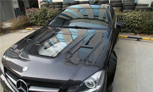 Carbon Fibre Front Bonnet Hood For MERCEDES BENZ【W204 C204 C63】11-14【Glass Type】 (4739518726218)