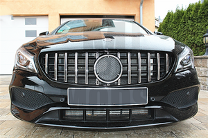 Grille For MERCEDES BENZ【C117 X117 CLA45 AMG CLA180/200/250】16-19【GT SV】 (4748315754570)