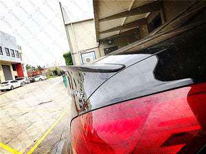 Carbon Fibre Rear Trunk Boot Spoiler for Mercedes-Benz CLA Class【C117 Coupe/Sedan】13-19 【AMG Style】 (3750237536330)