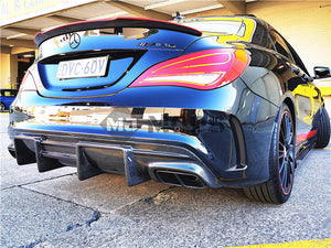 Carbon Fibre Rear Diffuser for Mercedes-Benz【C117 X117】【CLA45 200/220/250 AMG】FD (3787527848010)
