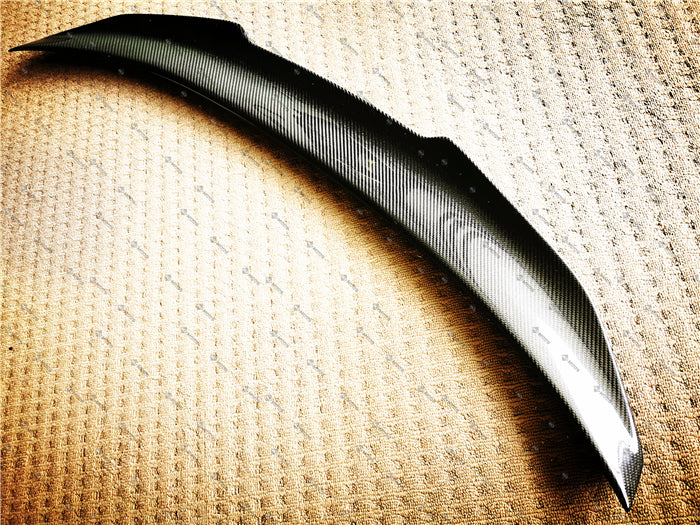 Carbon Fibre Rear Boot Spoiler for BMW【F82 M4】【PSM Style】 (3782794969162)